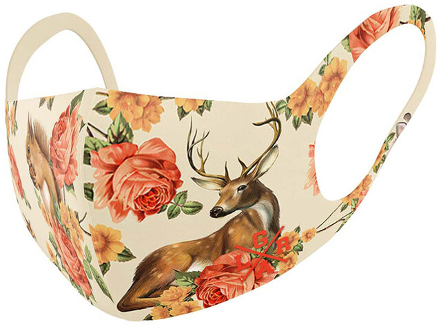 Loose Riders Face Mask, forest animals